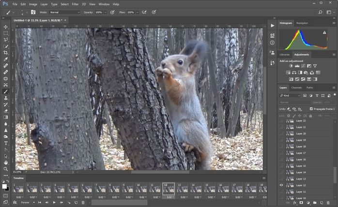 how to make gif in photoshop