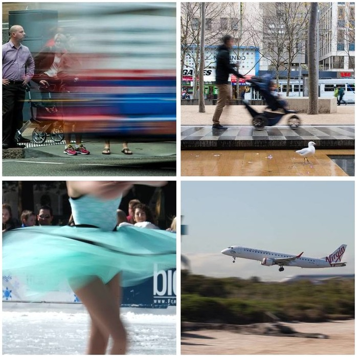 Photography Competition 12: Motion Blur Montage