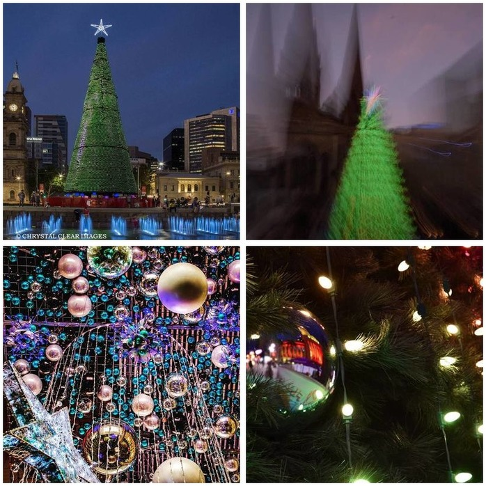 Photography Challenge 73: Christmas Lights Photography Montage