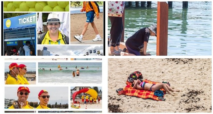 Photography Challenge 75: Summer Storytelling Photography Montage