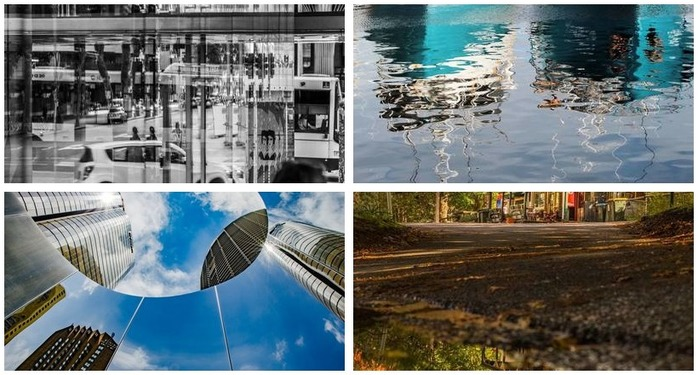 Photography Challenge 83: Playing with Reflection Montage