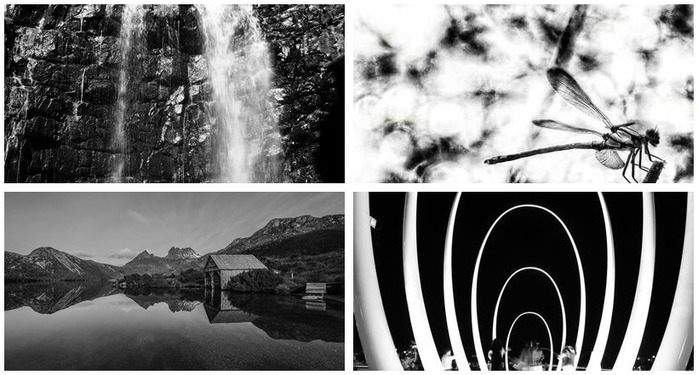 Photography Challenge 94: Black & White Photography Montage