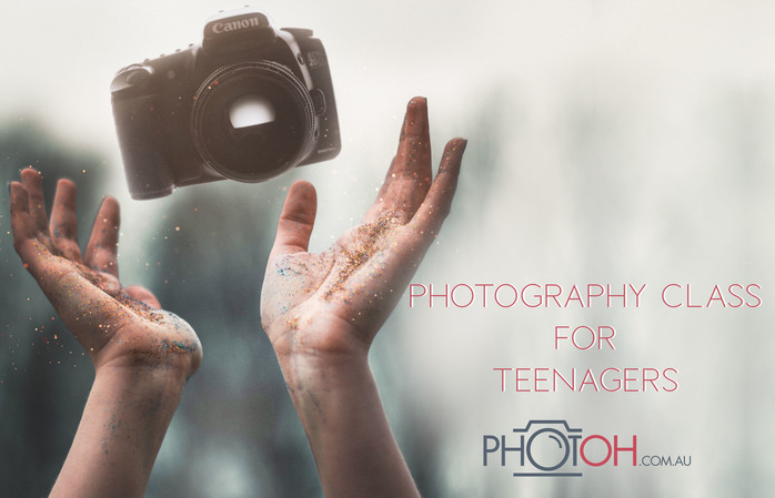 photography classes teens children australia learn how to DSLR camera class
