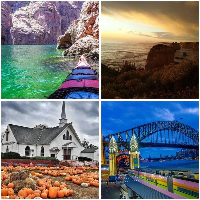 Photography Competition 58: Travel Photography Montage