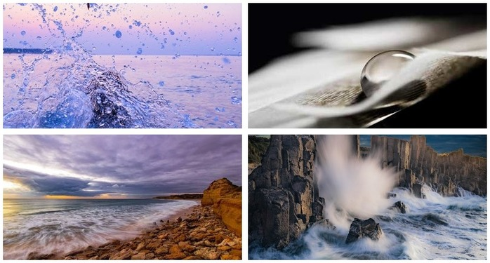 Photoh Competition 108: Photographing Water Montage
