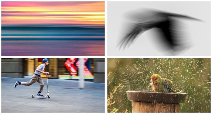 Photoh Competition 118: Using Blur in Photography Finalists Montage