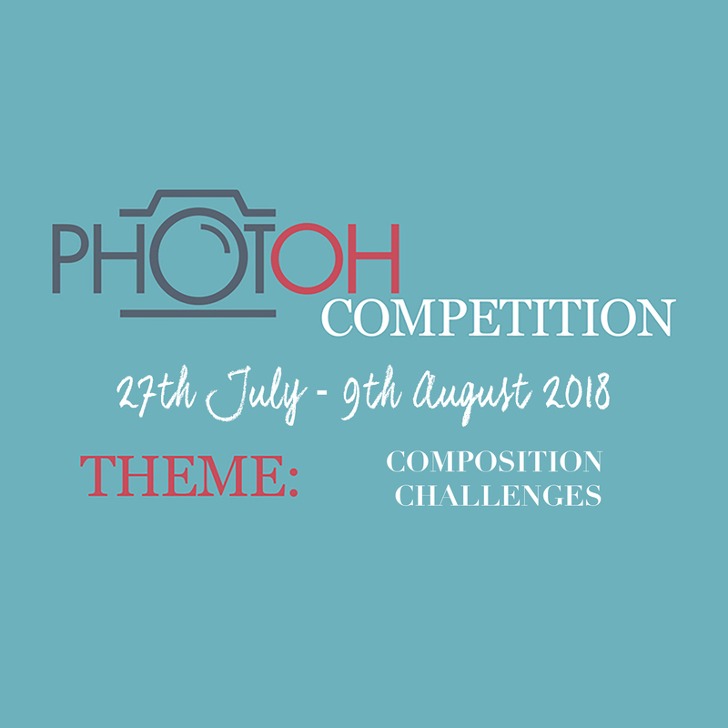 Photoh Competition Photography Classes Brisbane Melbourne Adelaide Sydney Perth Australia  - New Photoh Challenge - Composition Challenges - Closes 9th August 2018