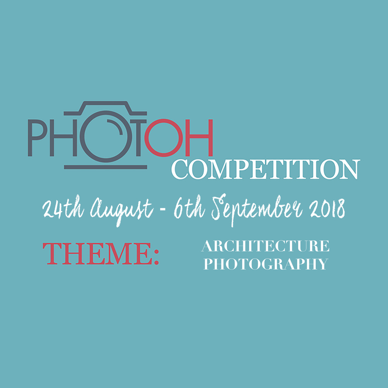 Photoh Competition Photography Classes Brisbane Melbourne Adelaide Sydney Perth Australia  - New Photoh Challenge - Architecture Photography - Closes 6th September 2018