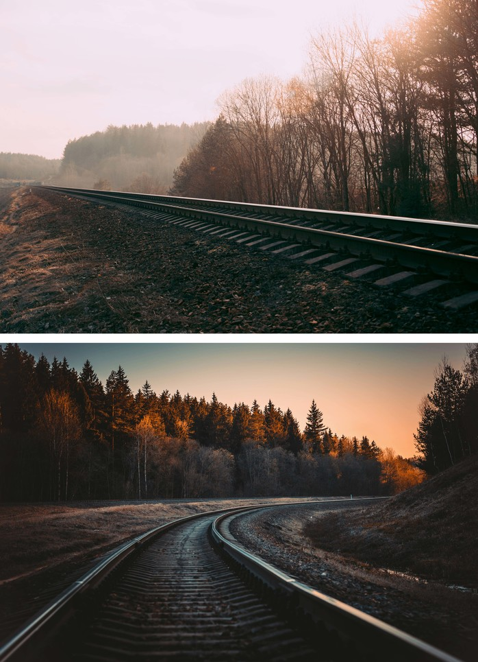 using Leading lines in photography